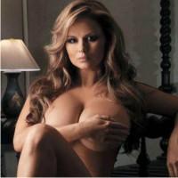 Анна Семенович, журнал, апрель, Playboy
