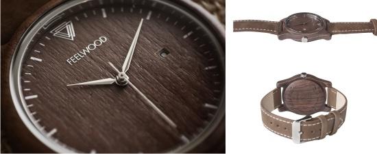 Feelwood, деревянные наручные часы