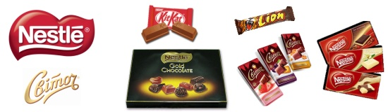Продукция Nestle
