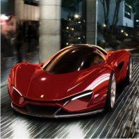 концепт суперкара, Ferrari Xezri, Самир Садихов